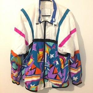 Vintage Multi-Colored Jacket/Windbreaker